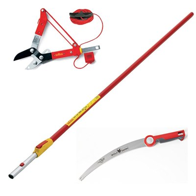 Wolf Garten Handle, Tree Lopper and Saw Economy